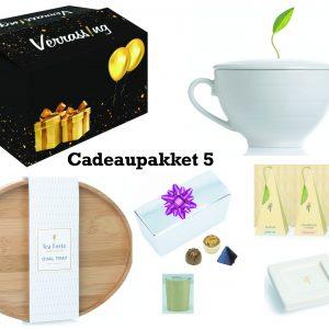 cadeaupakket 5 voor sinterklaas, kerst, verjaardag