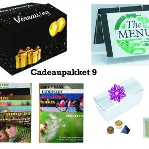 cadeaupakket 9 voor sinterklaas, kerst, verjaardag