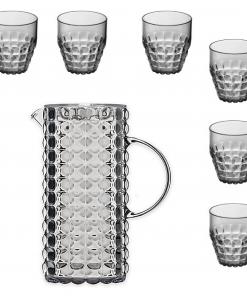 Guzzini Tiffany karaf met 6 glazen