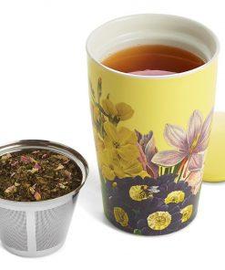 Kati Soleil thee mok van Tea Forté