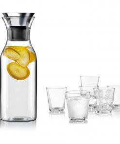 Set: Fridge karaf met 6 glazen van Eva Solo